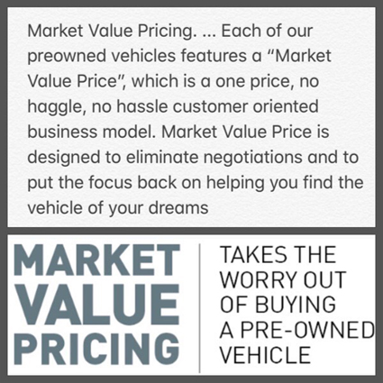 market-value-pricing